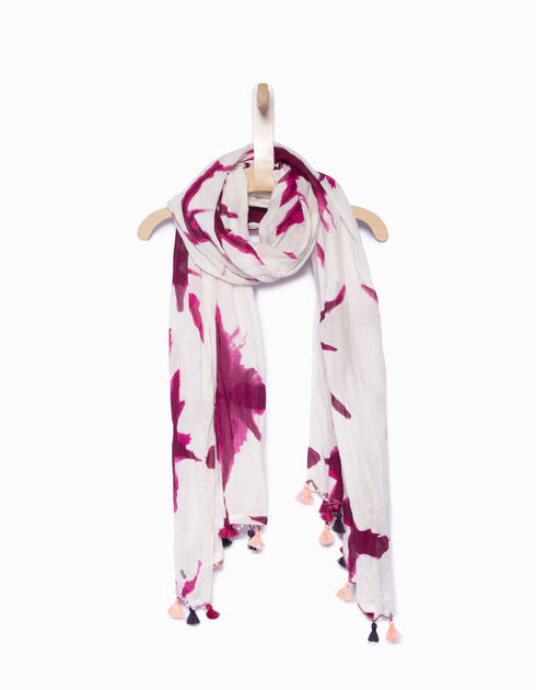 Girls' pink snood
