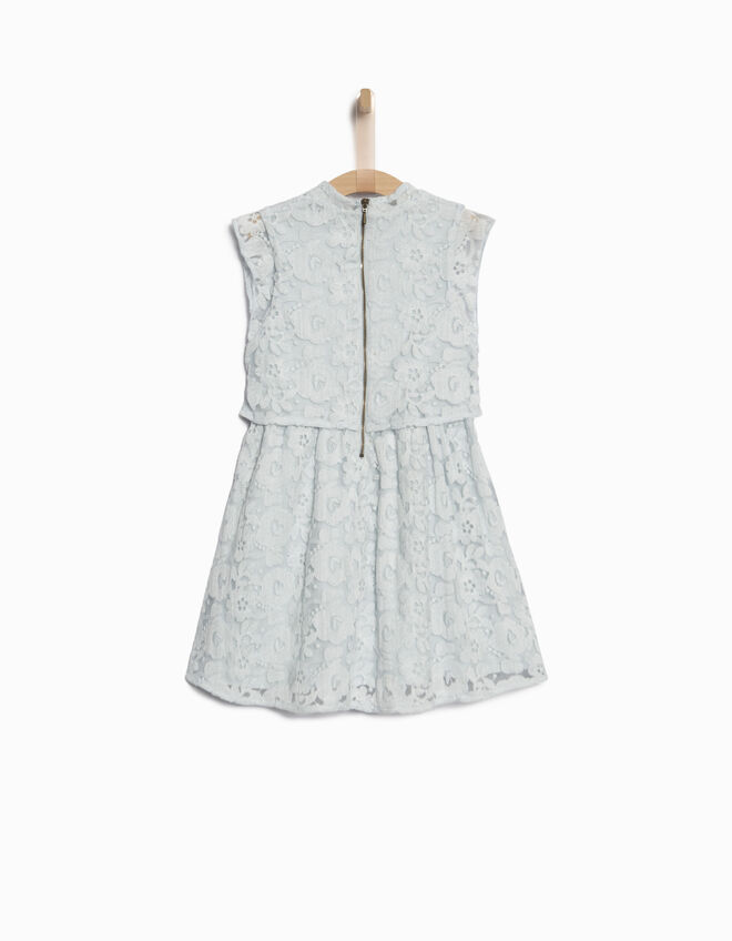 Girls' lace dress