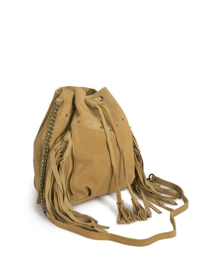 Leather bucket bag - I.Code