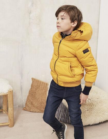 doudoune plume b b fille mode enfant ikks hiver 2016. Black Bedroom Furniture Sets. Home Design Ideas