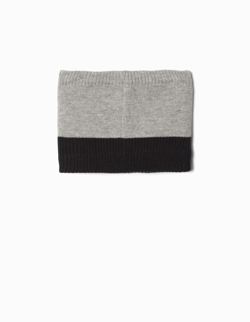 Boys' grey snood