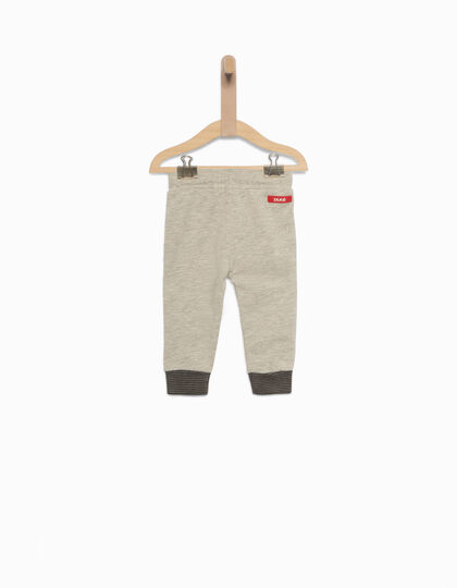 Cotton fleece trousers  - IKKS Junior