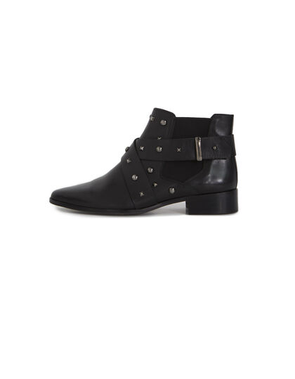 Women's black boots - IKKS Women