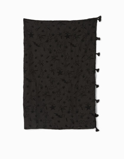 Girls' black scarf - IKKS Junior