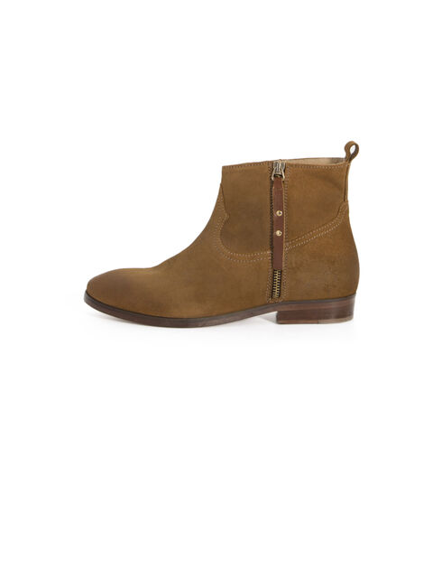 Boots camel mujer