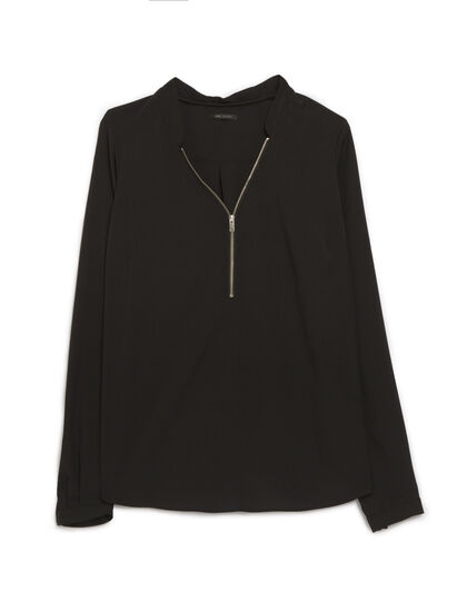 Women's blouse with zip - IKKS Women