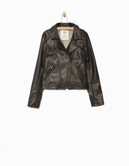 Girls' black jacket - IKKS Junior