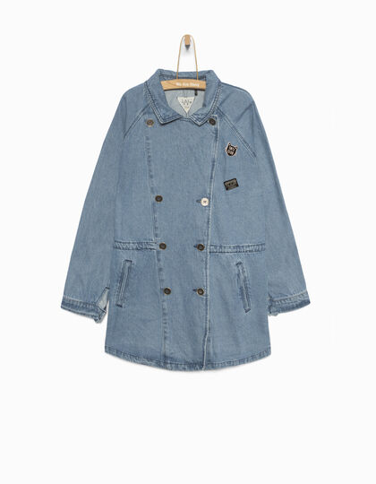 Parka fille en jean - IKKS Junior