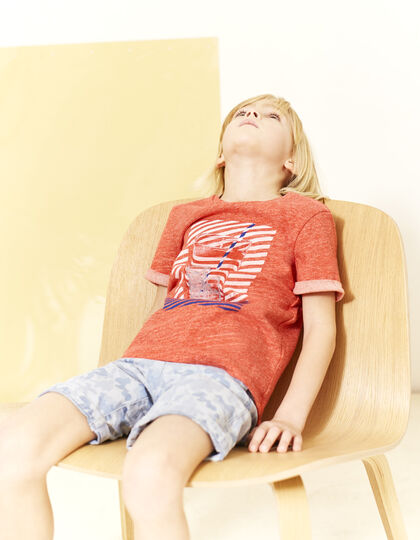Boys' red T-shirt - IKKS Junior