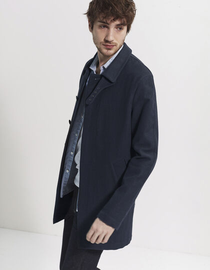 Trench denim bleu homme - IKKS Men