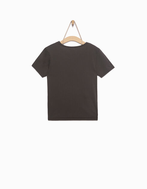 Boy's grey T-shirt