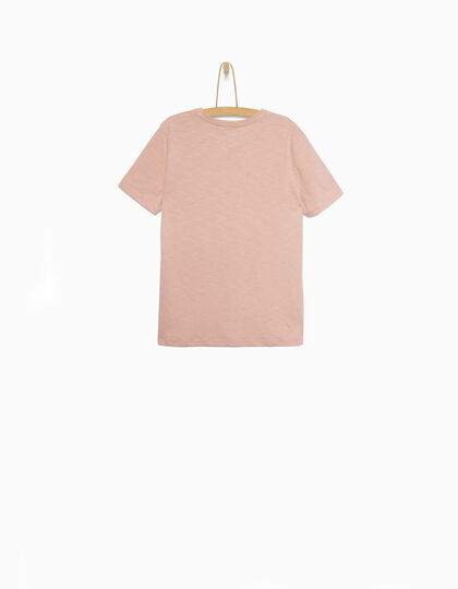 Boys' pink T-shirt - IKKS Junior