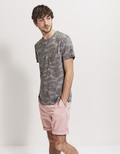 Men's pink Bermudas - IKKS Men