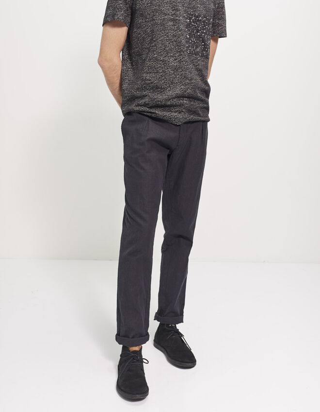 Men's tapered trousers