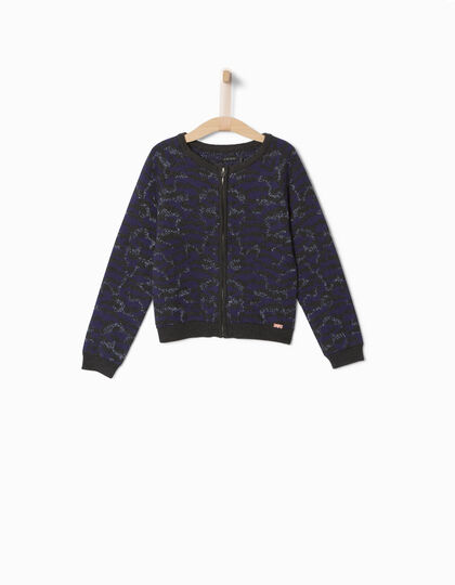 Cardigan camouflage fille - IKKS Junior
