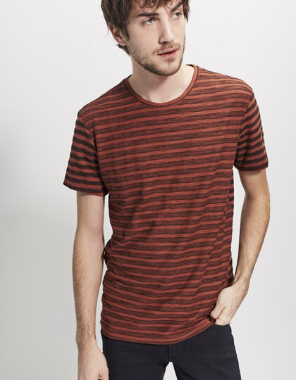 Tee-shirt rouge homme - IKKS Men