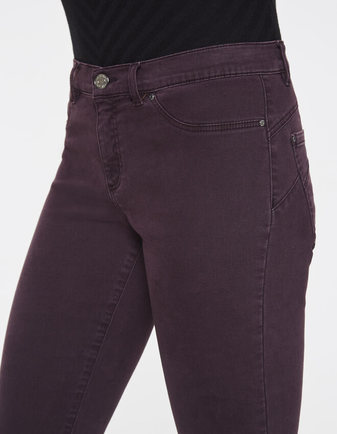 Jean sculpt up prune, coupe jegging