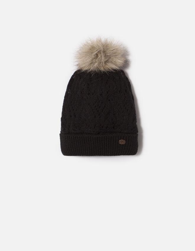 bonnet noir fille ikks mode archive h16 automne hiver. Black Bedroom Furniture Sets. Home Design Ideas