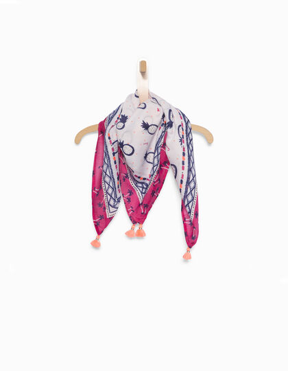 Girls' pink scarf - IKKS Junior
