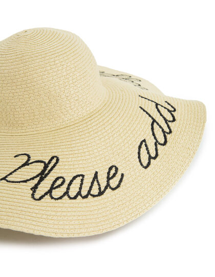 Women's straw hat - I.Code