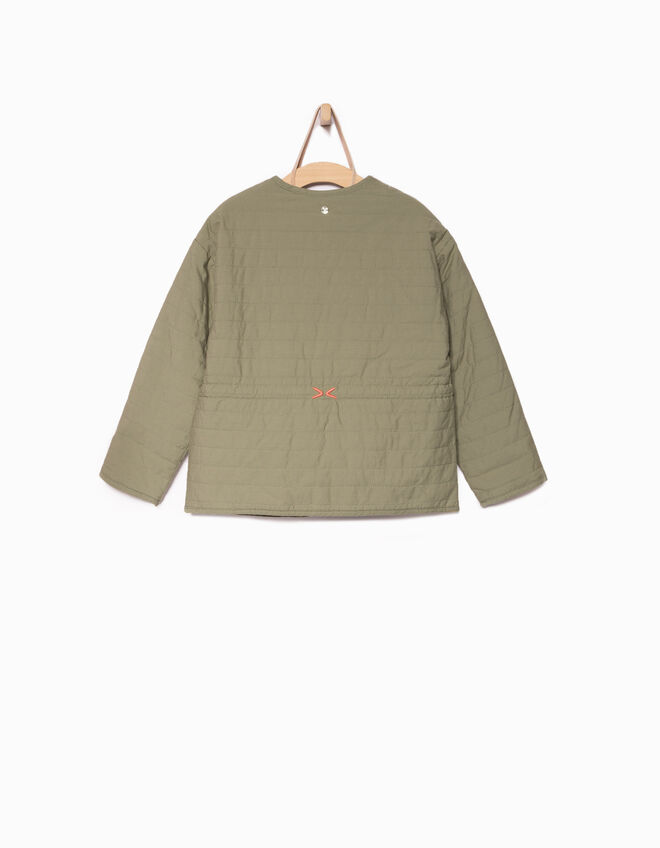 Girls' khaki jacket