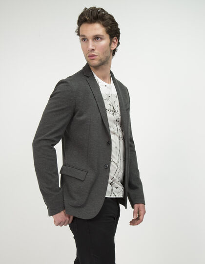 Grey suit jacket - IKKS Men