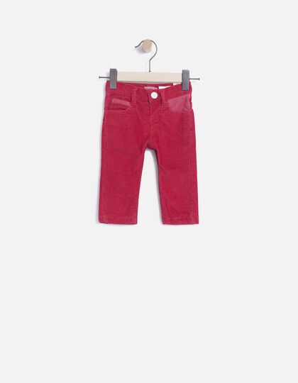 Pantalon velours bébé - Junior