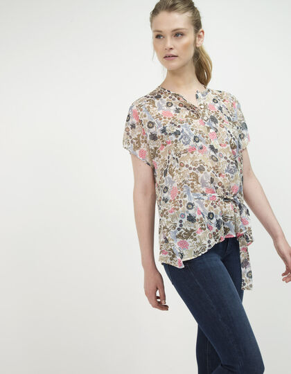 Women's floral print top - IKKS Women