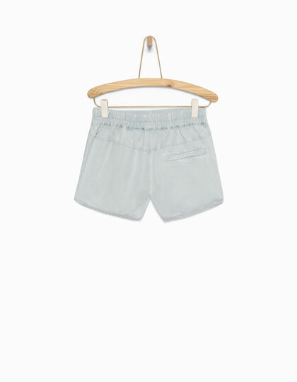 Short fille bleu - IKKS Junior