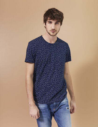 Men's navy T-shirt - IKKS Men