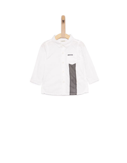 Boys' white shirt