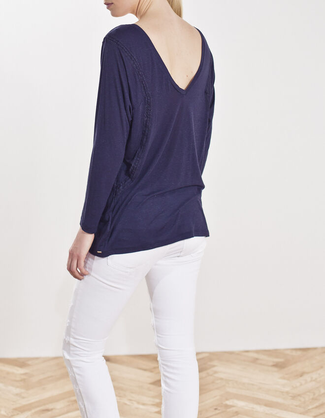 Tee-shirt loose pour femme