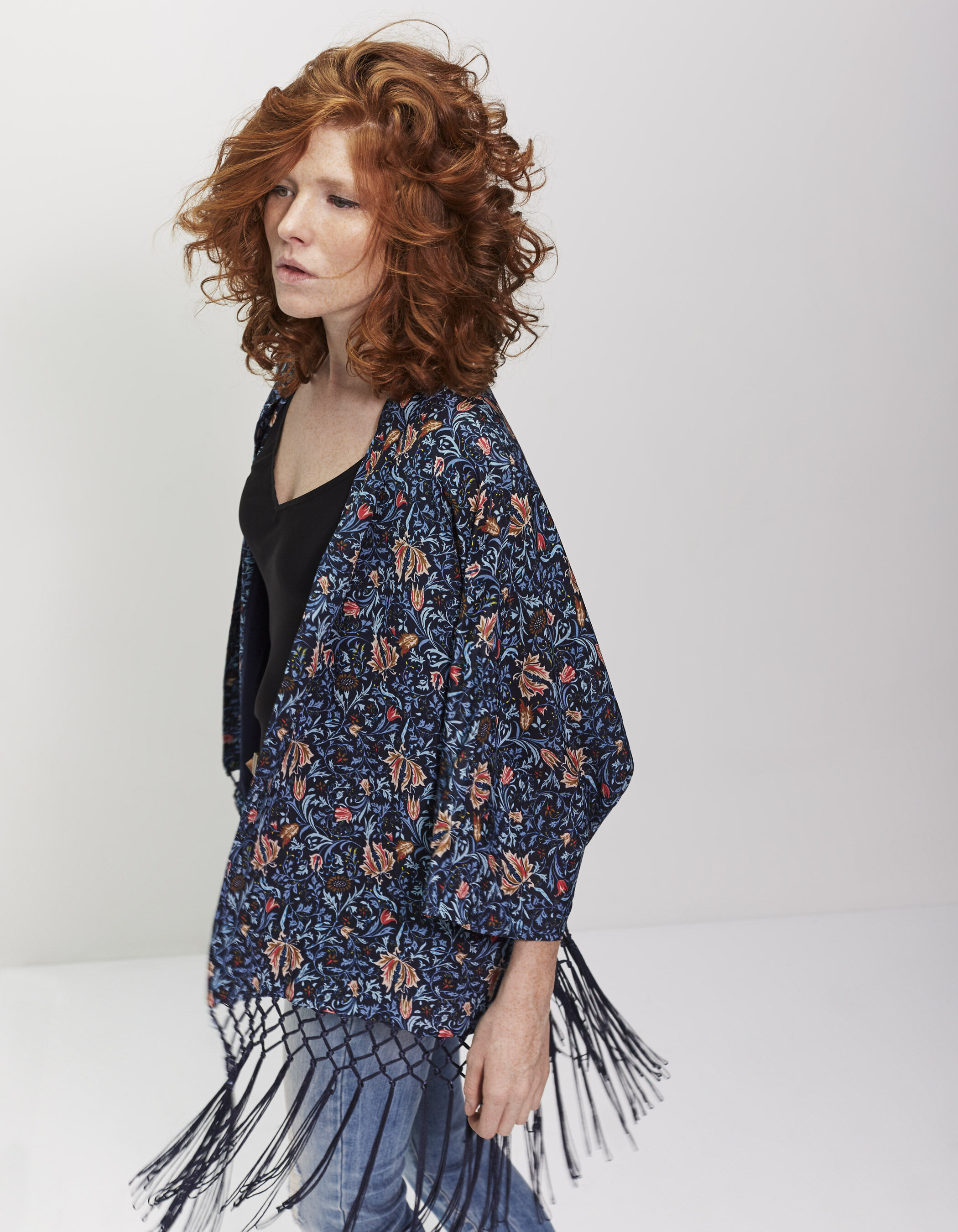 Veste kimono ikks femme