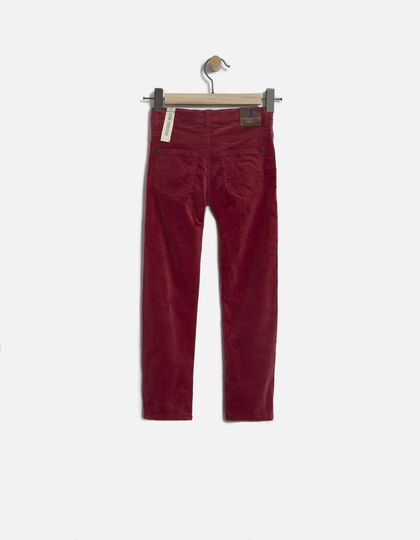 Pantalon velours garçon - Junior