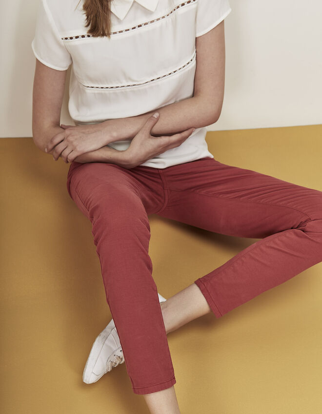 Women's pink trousers