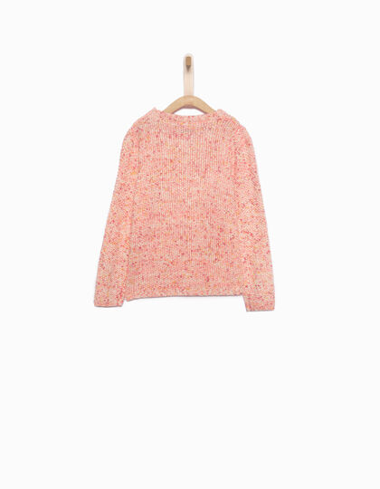Pull fille rose - IKKS Junior