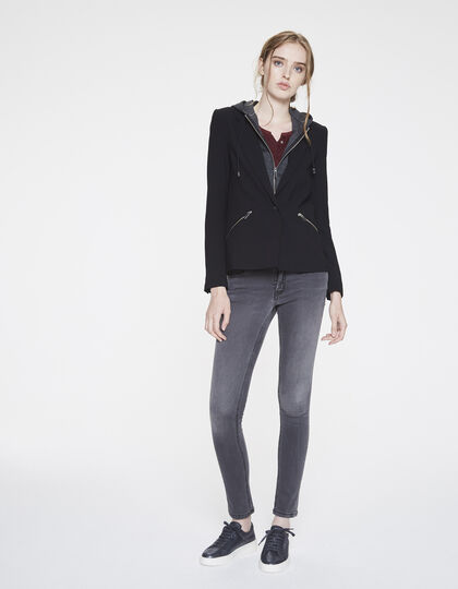 Loose suit jacket - IKKS Women