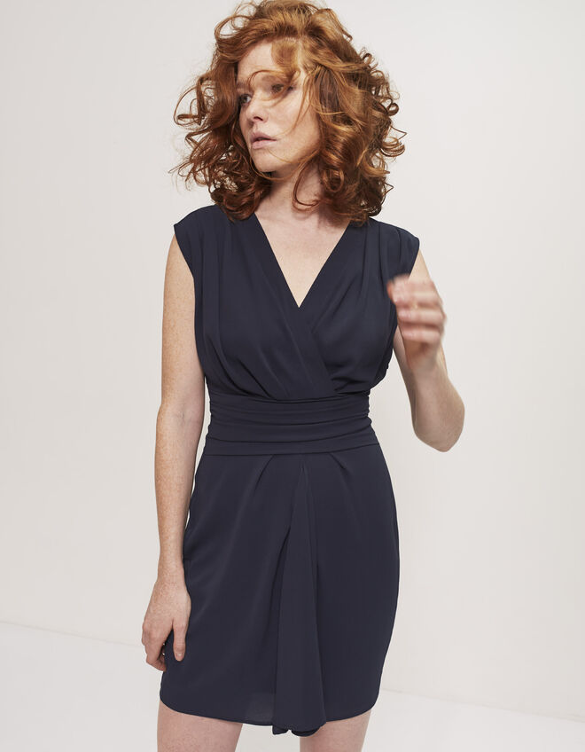 Women's draped dress