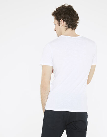 Tee-shirt blanc homme - IKKS Men