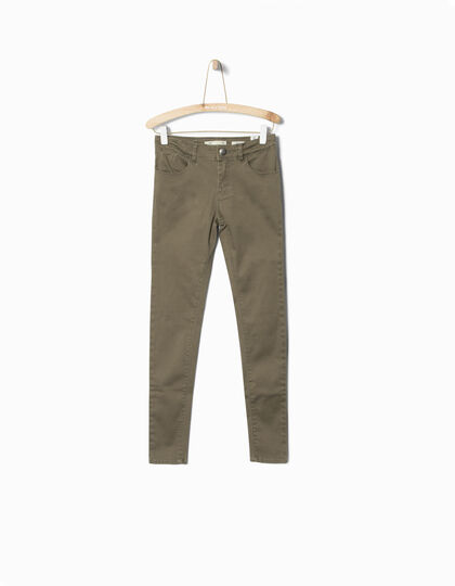 Girls' khaki trousers - IKKS Junior