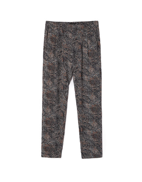 Women's city-print trousers