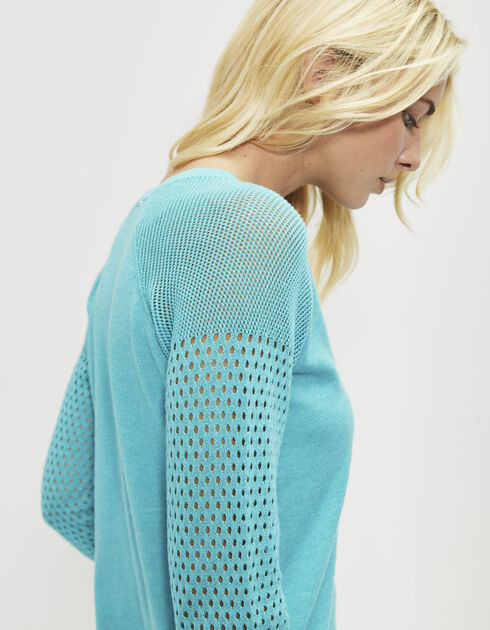 Women's cotton sweater