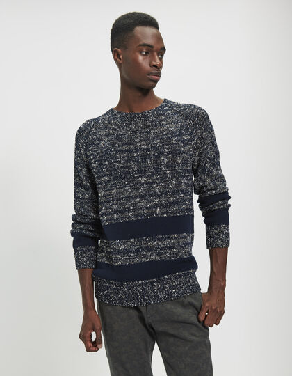 Men's blue sweater - IKKS Men