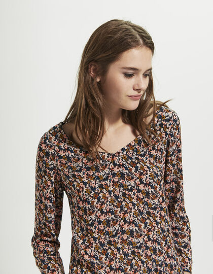Women's floral top - I.Code