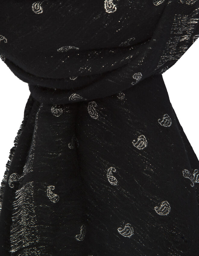 Women's black scarf