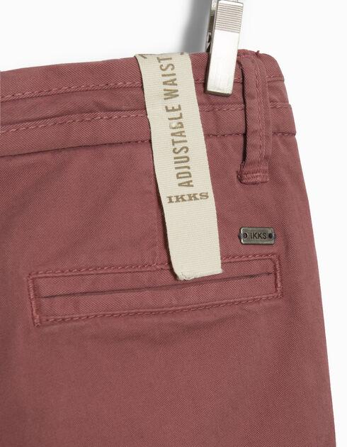 pantalon chino gar on ikks mode pantalon jean automne hiver. Black Bedroom Furniture Sets. Home Design Ideas