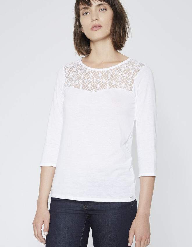 Women's lace T-shirt