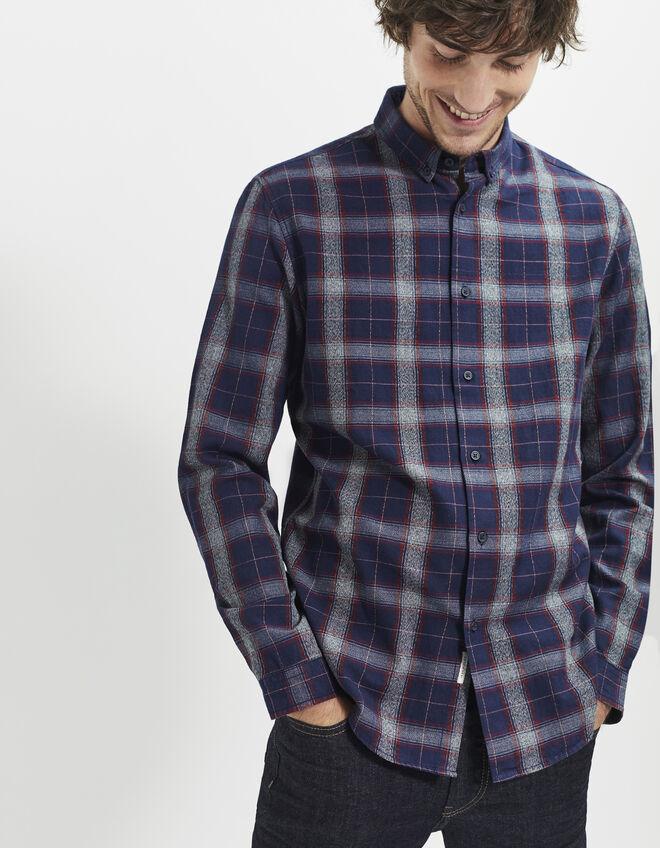 chemise bleue homme ikks mode archive h16 automne hiver. Black Bedroom Furniture Sets. Home Design Ideas