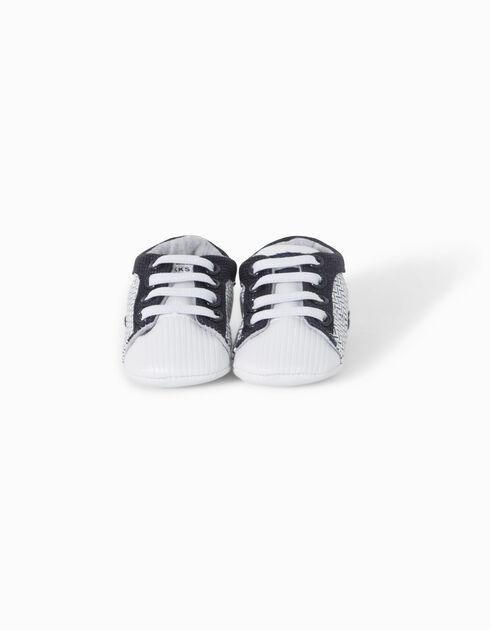 Babies' white trainers