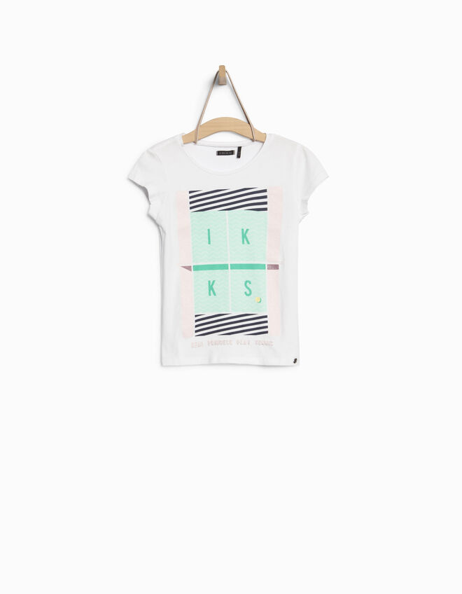 Girls' graphic T-shirt